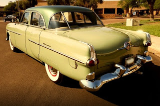 1951 Packard 300 Classic Sedan Rear Left