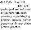 Inilah Perbedaan Drama dan Teater Secara Umum
