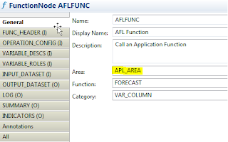 Using Application Function Modeler To Create Forecast (APL