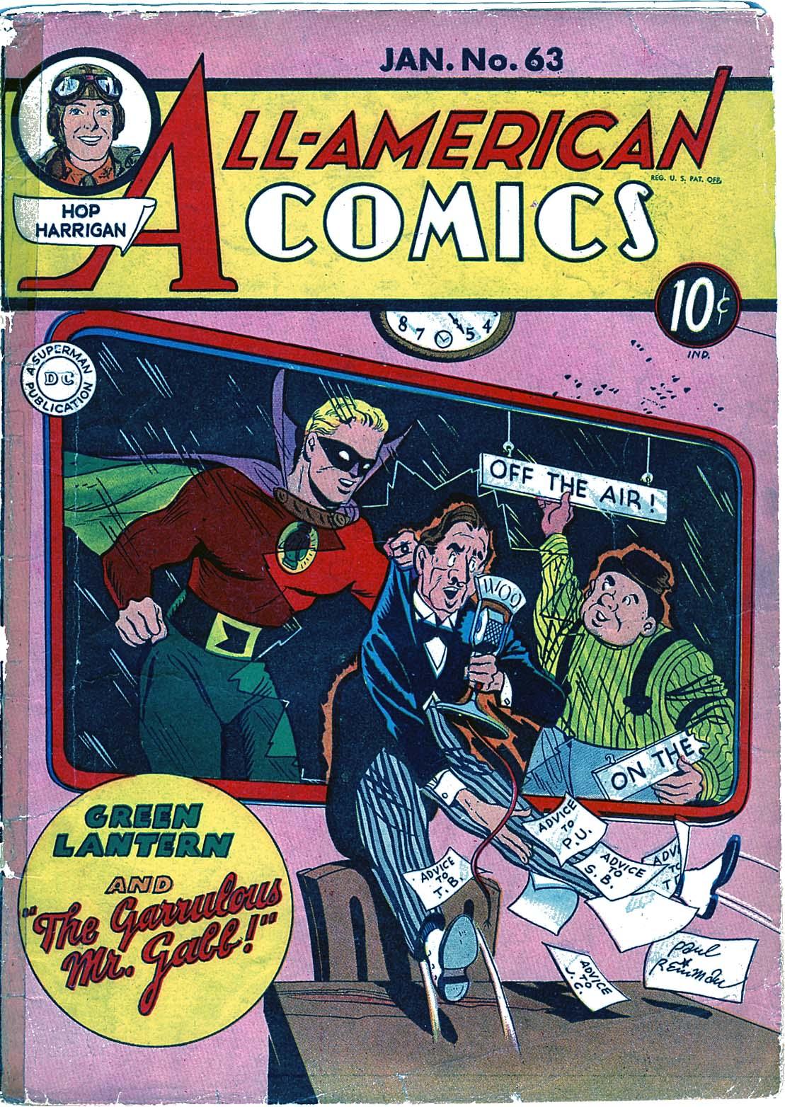 Read online All-American Comics (1939) comic -  Issue #63 - 1