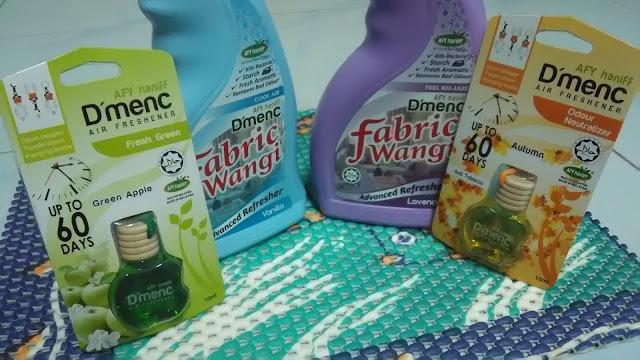 Afy Haniff D'menC Fabrik Wangi dan D'menC Air Freshener