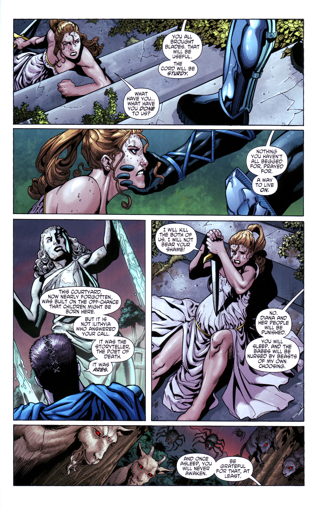 Read online Wonder Woman (2006) comic -  Issue #39 - 4