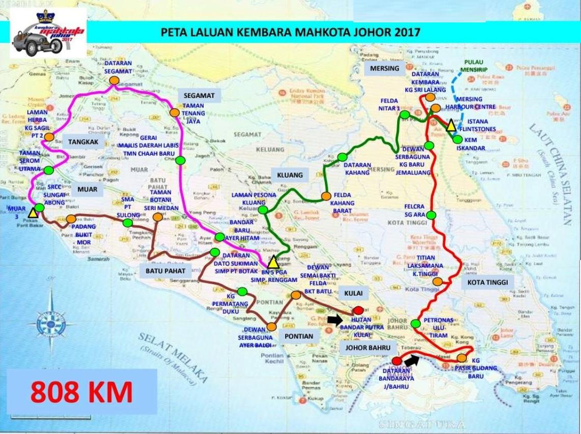 peta laluan kmj 2017