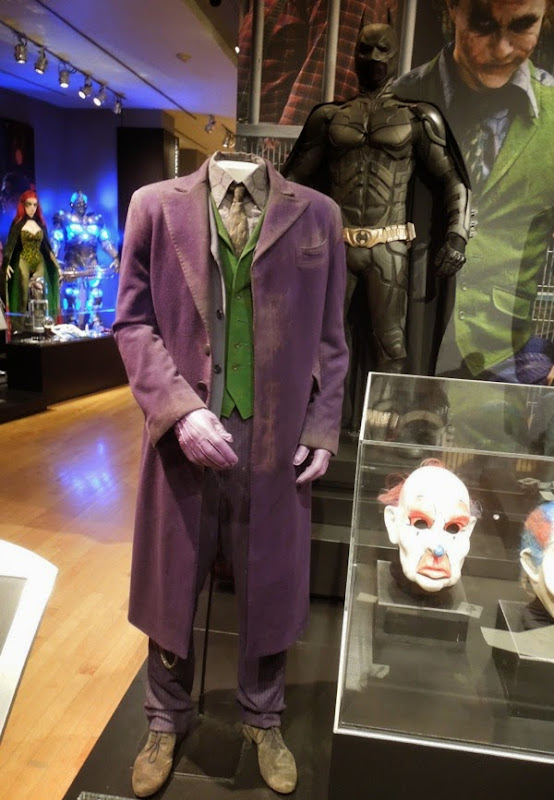 Heath Ledger The Joker costume Dark Knight