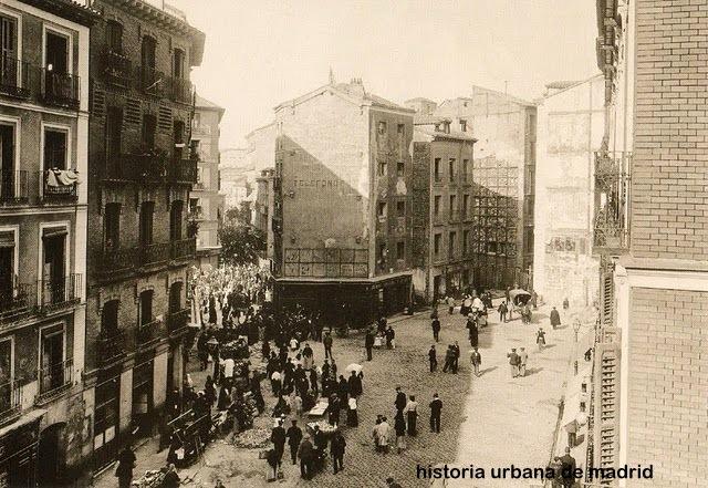 Historia urbana de madrid especial de tap n del rastro a - Cascorro madrid rastro ...