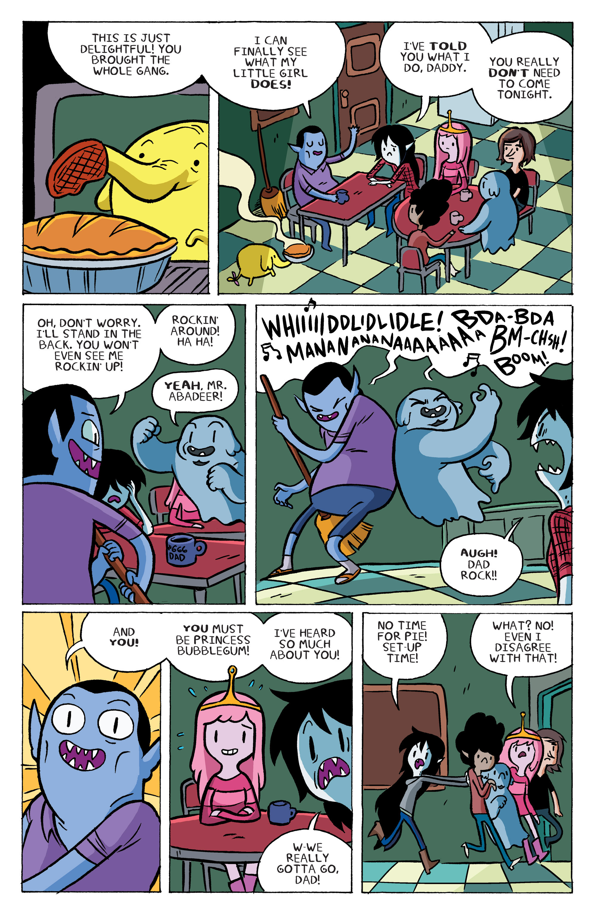 Read online Adventure Time: Marceline and the Scream Queens comic -  Issue #5 - 8