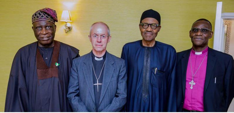 Buhari meets Archbishop of Canterbury (PHOTO)