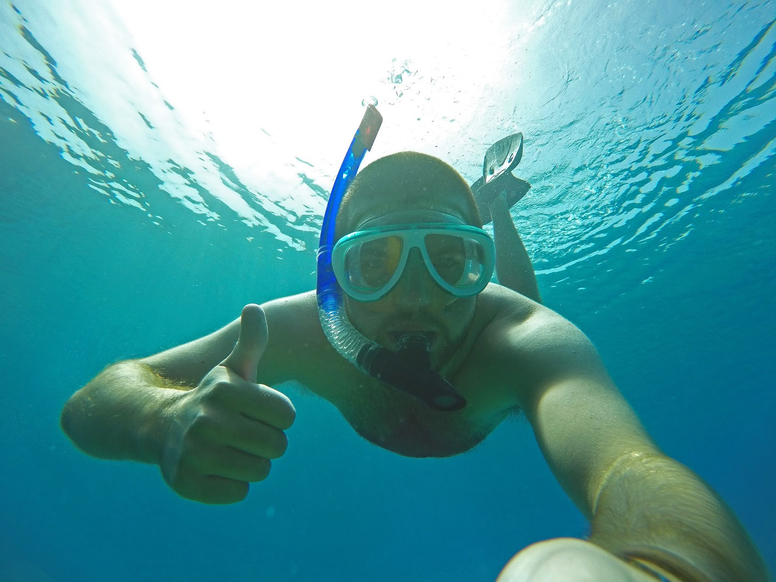 Snorkelling in Turkey