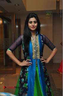 Actress Model Shamili Sounderajan Pos in Desginer Long Dress at Khwaaish Designer Exhibition Curtain Raiser  0042.JPG