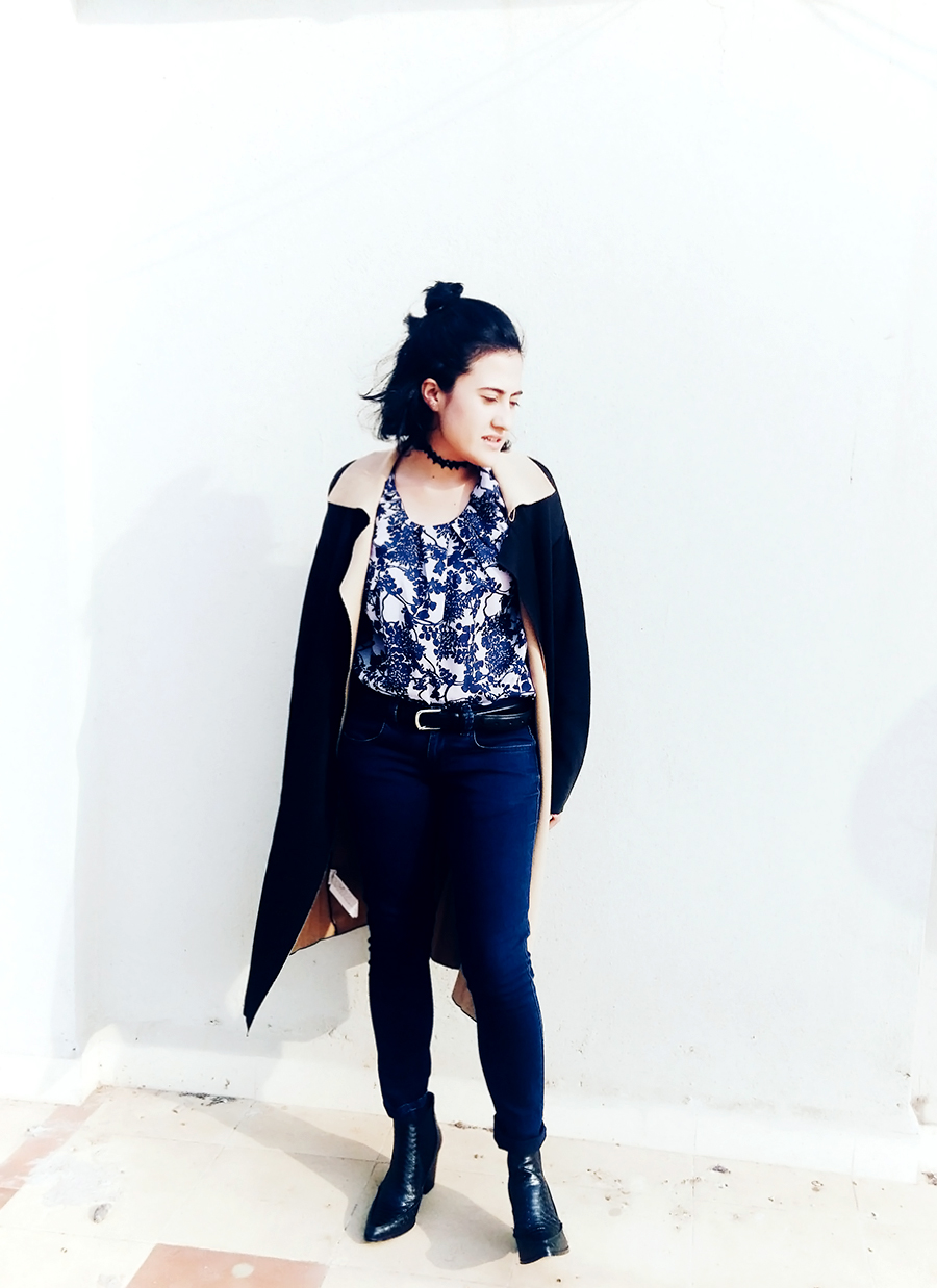 Zara  navy jeans , indian fashion blogger