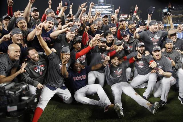Medias Rojas conquistan de nuevo la Serie Mundial