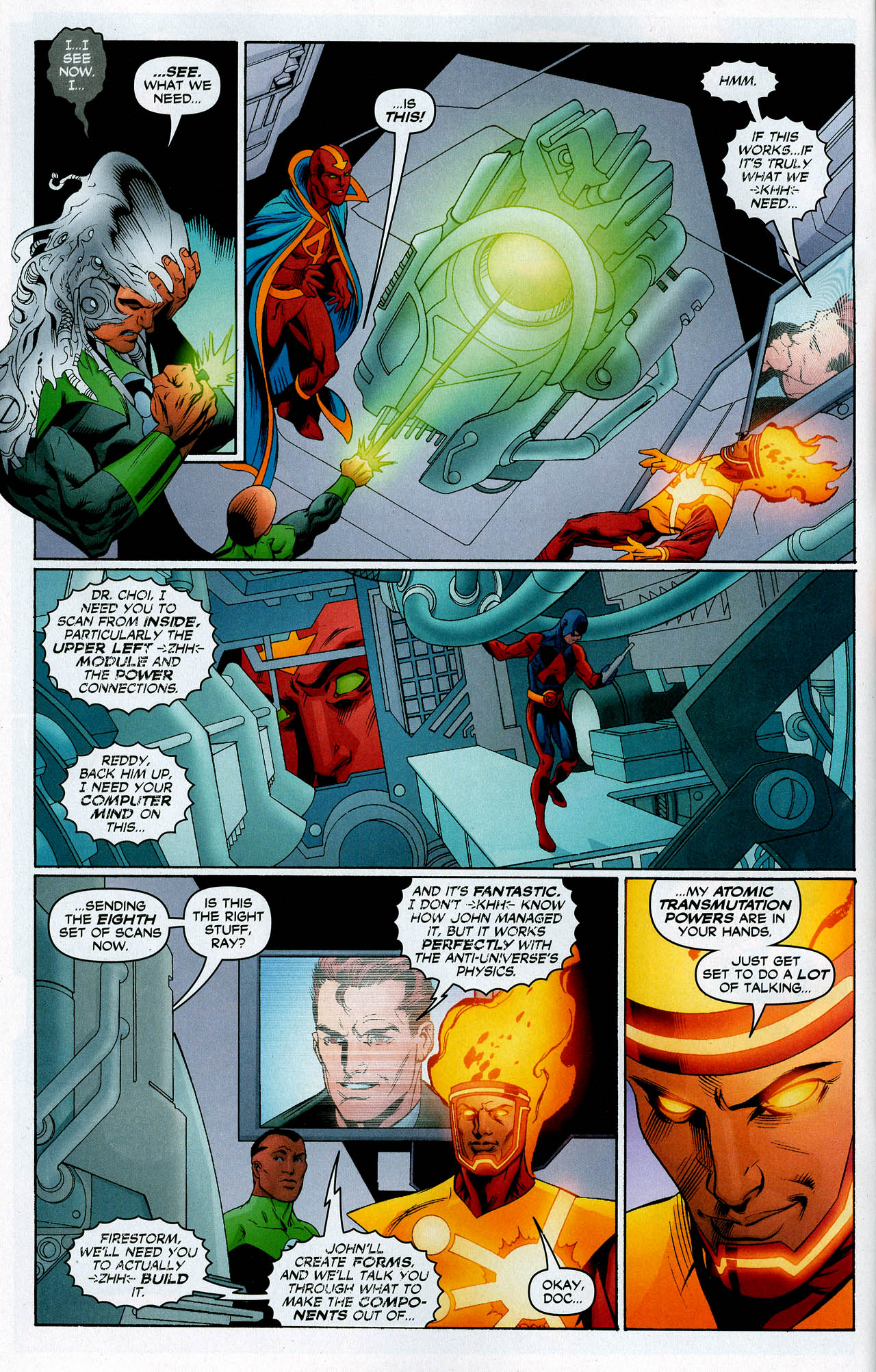 Read online Trinity (2008) comic -  Issue #14 - 7