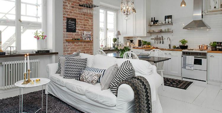 cozinhas integradas com as salas.