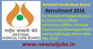 national+horticulture+board+recruitment+2016