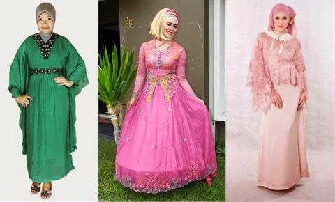 model baju muslim orang gemuk 2016
