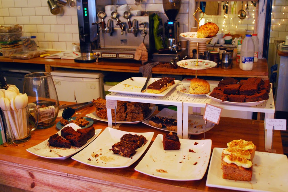 Cakes at The Foodstory Cafe, Aberdeen
