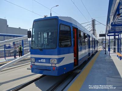 Estakada tramwajowa Wielicka - Lipska, N8S-NF, Kraków