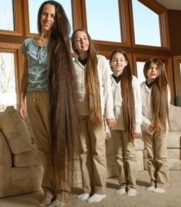 gambar rambut terpanjang di dunia