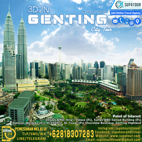 3D Genting City Tour Package