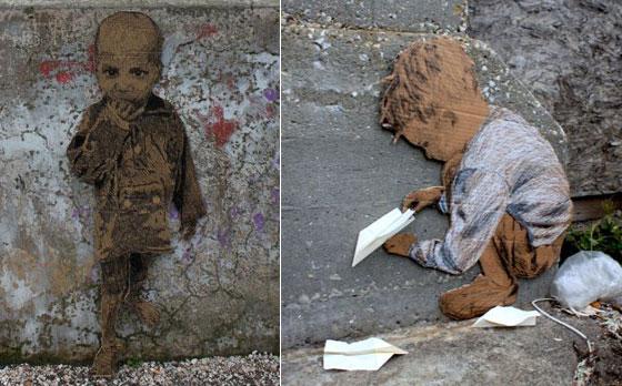 Homeless Street Art by Michael Aaron Williams