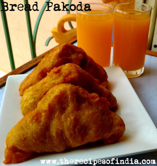 Bread Pakoda Recipe | How to Make Bread Pakoda