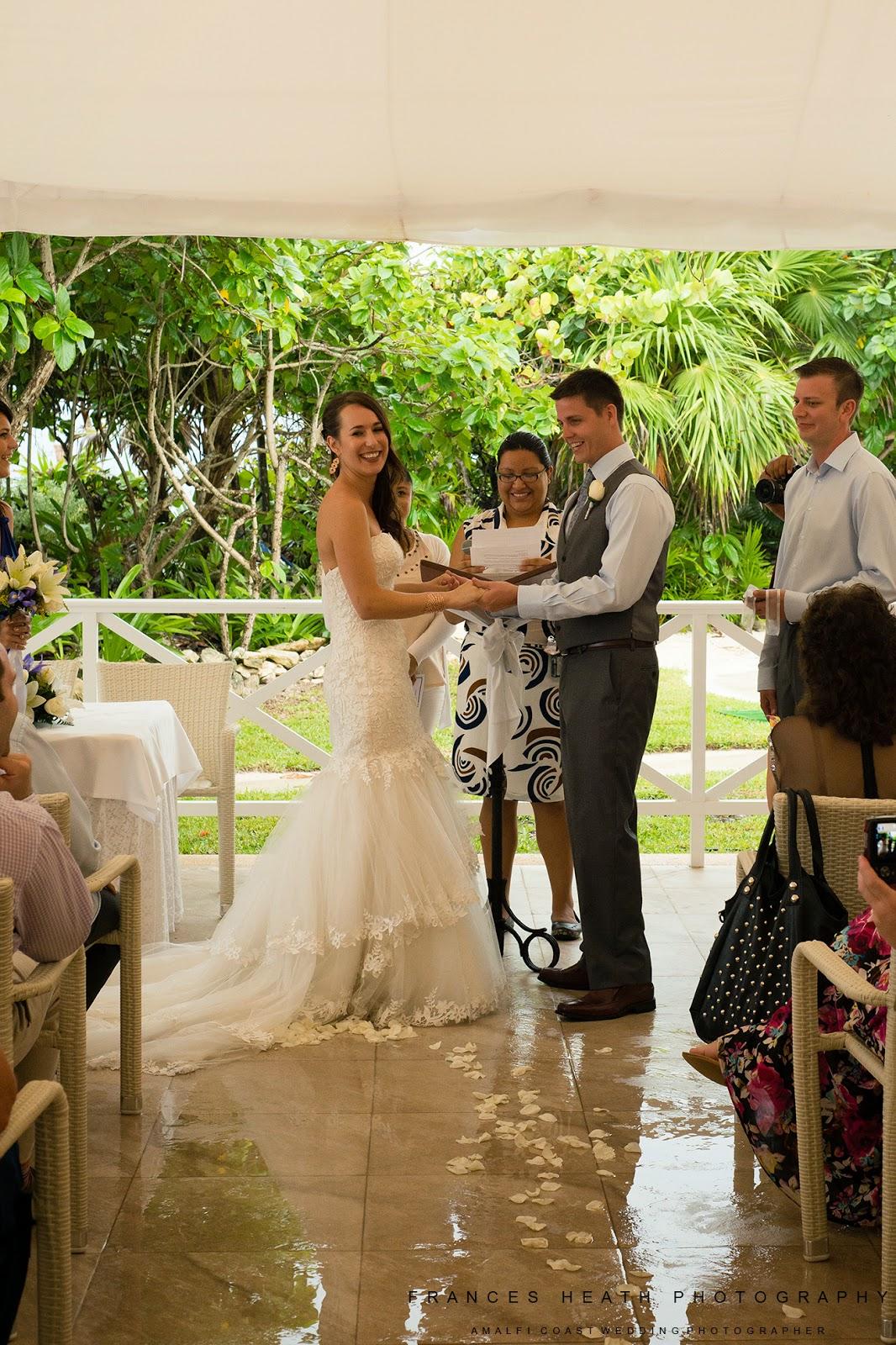 Wedding ceremony Tulum Mexico