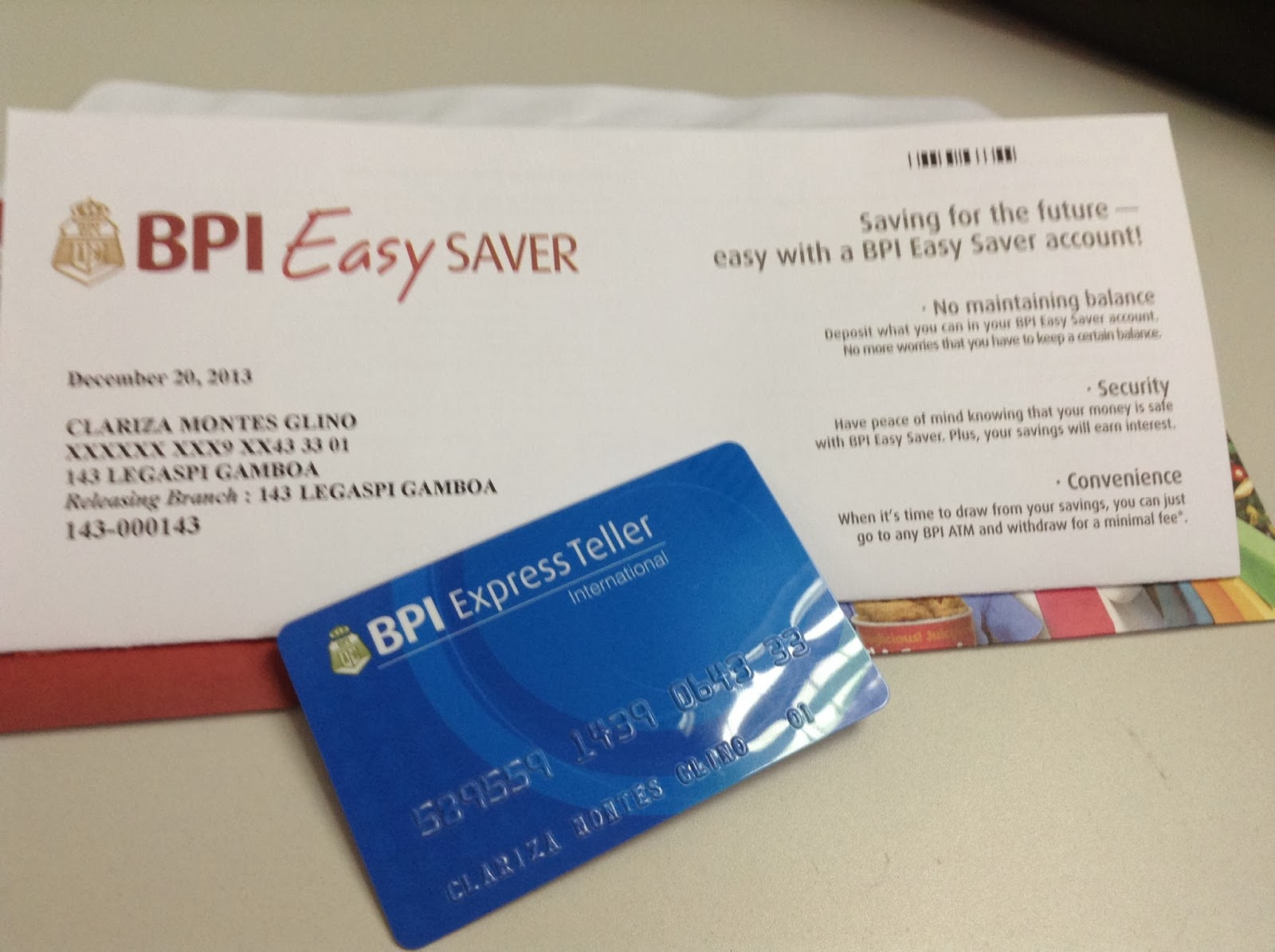 how i opened my bpi express teller account  savingspinay