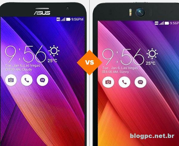 Zenfone 2 ou Zenfone Selfie, qual smartphone se sai melhor nos quesitos câmera, tela, design, bateria e desempenho?