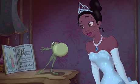 Tiana and frog The Princess and the Frog 2009 animatedfilmreviews.blogspot.comn