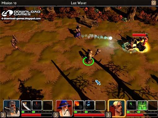 لعبة حرب الاساطير War Legends