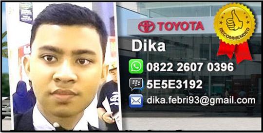 Rekomendasi Sales Toyota Kalideres - Jakarta Barat
