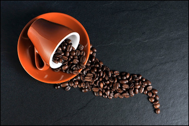 Don't Spill The Beans Coffee Public Domain Free Image