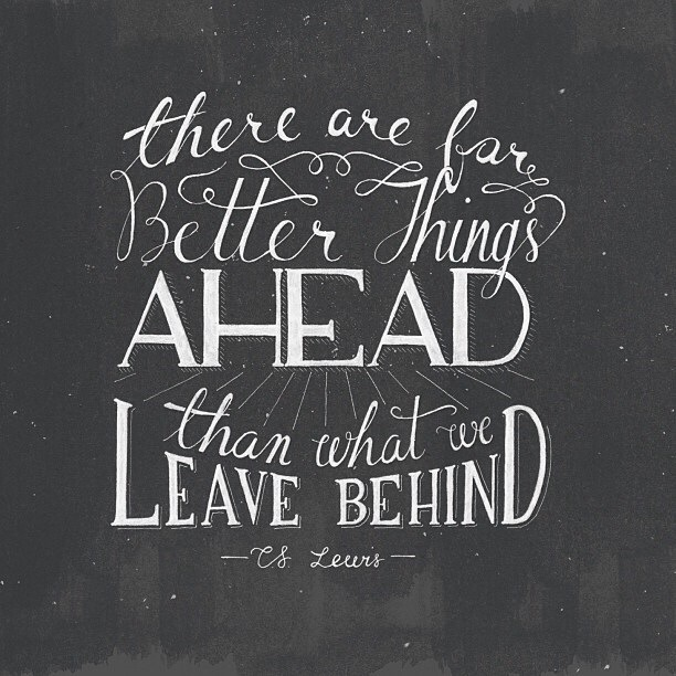 Cs Lewis Quotes New Beginning: New Beginnings Better Things Quotes. QuotesGram