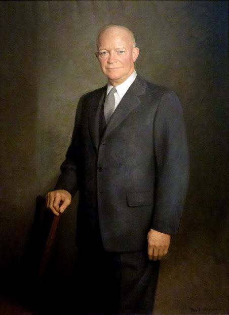Portrait Dwight . Eisenhower