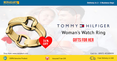 Tommy Hilfiger Woman's Watch Ring 2700105B