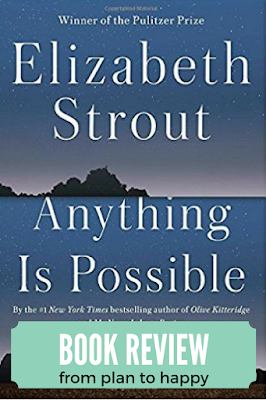 The style of Anything is Possible is consistent with Strout's signature sparse prose and the characters seem painfully real. There are many stories that are dark, touching on taboo topics: incest, infidelity, molestation. Families are tested and raw emotions are often on display.  #books #reading