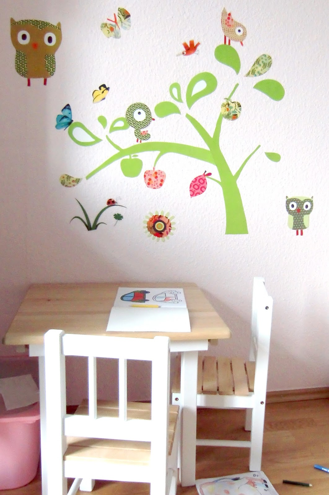 Kinderzimmer ausmalen ideen   home creation