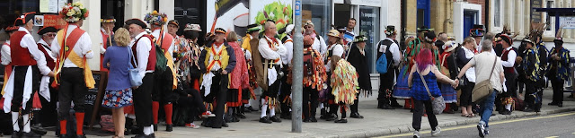 portsea island morris dancing competition 2017