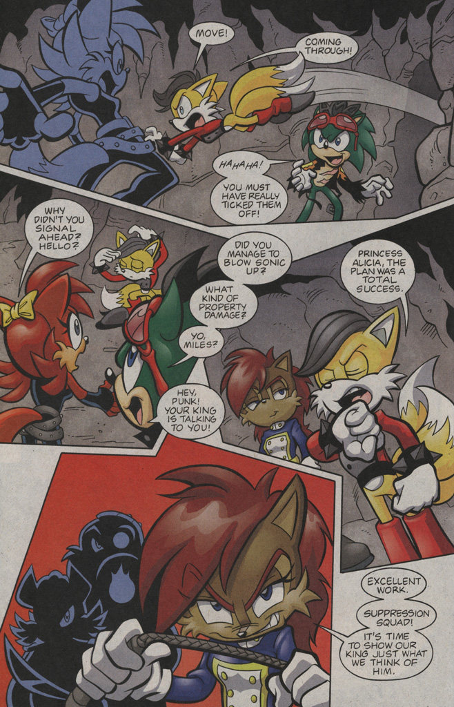 Read online Sonic The Hedgehog comic -  Issue #194 - 5