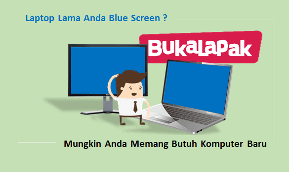 Mengatasi Monitor Blue Screen