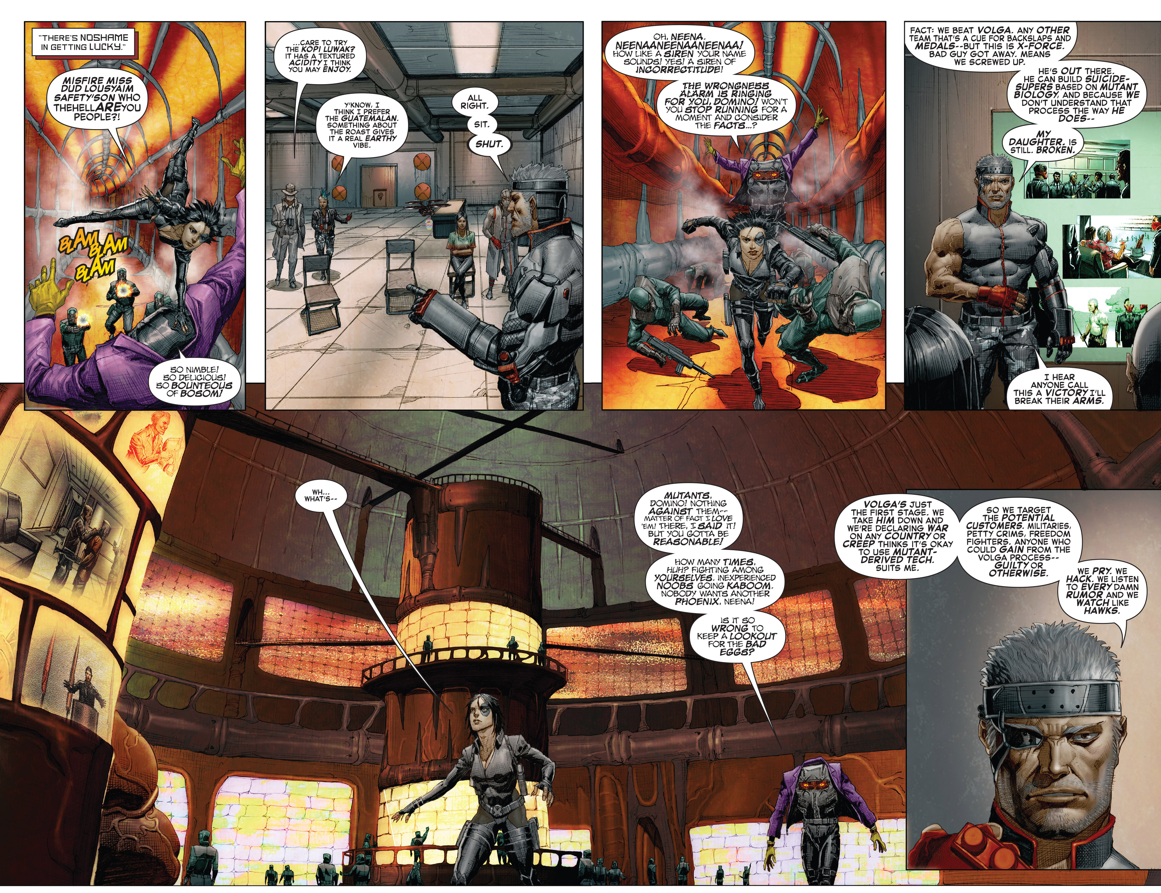 Read online X-Force (2014) comic -  Issue #7 - 15