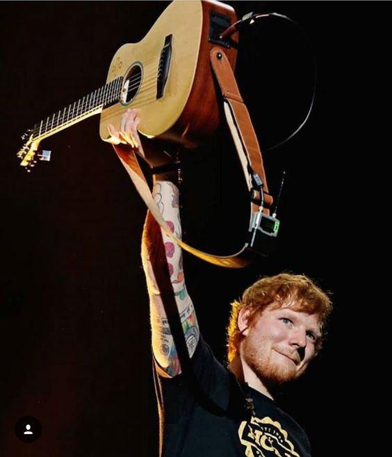 Ed Sheeran Menggelar Konser Di Indonesia Dan negara Asia