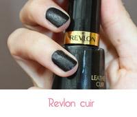 vernis à ongles Revlon cuir