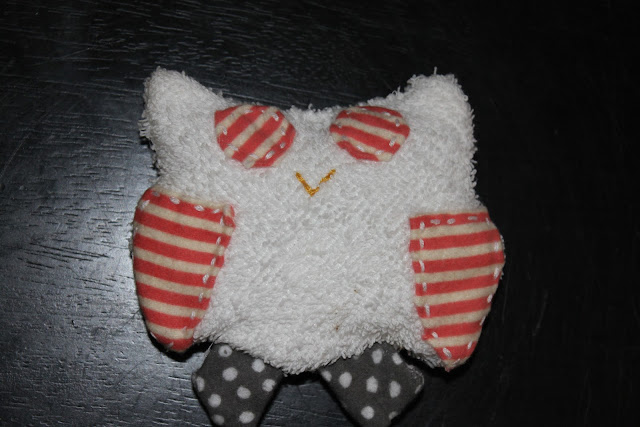 Scrappy Owl Teether Sewing Tutorial