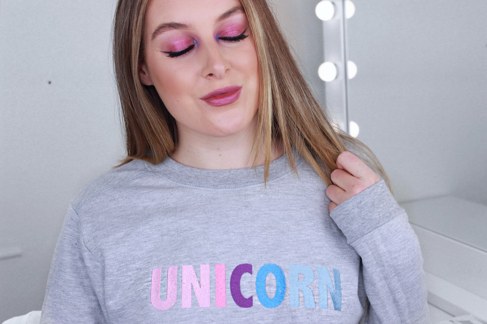 Unicorn Glossybox Sweatshirt