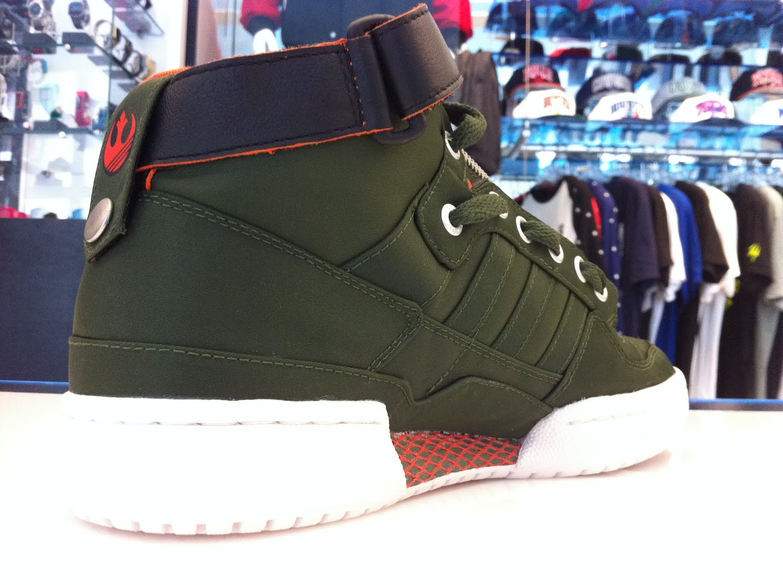 new styles 179dd 2632d ... Originals Forum Mid- Han solo. Adidas brand and the Star war series it  offers dosent stop, heres another release from the iconic character, Han  Solo