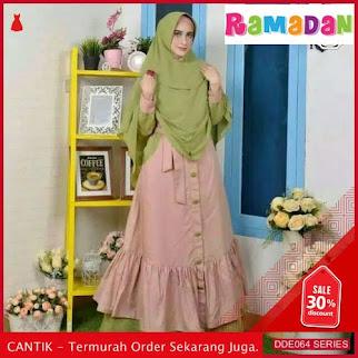 DDE064B81 Baju Muslim Wanita Gamis Lebaran Syari 2019 Pesta BMGShop