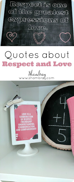 Quotes about Respect and Love
