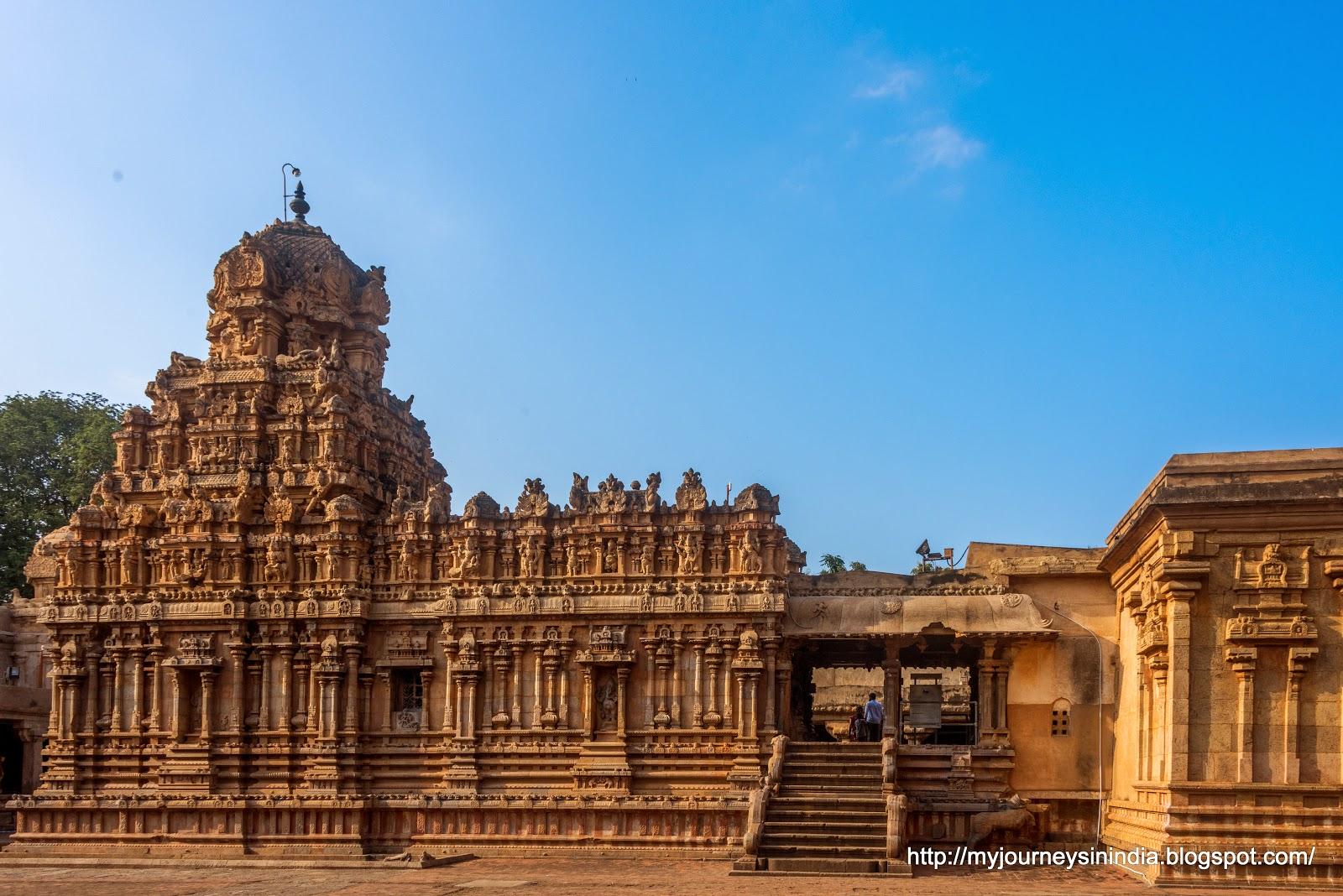 Thanjavur Brihadeeswarar Temple Inner Murugan Temple