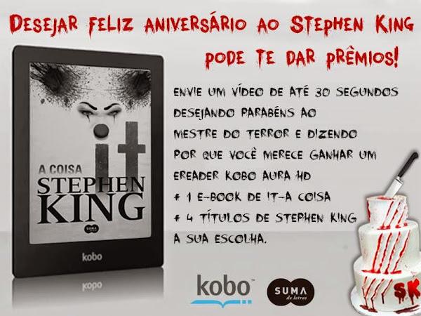 Promoção de Aniversário do Stephen King - Suma de Letras